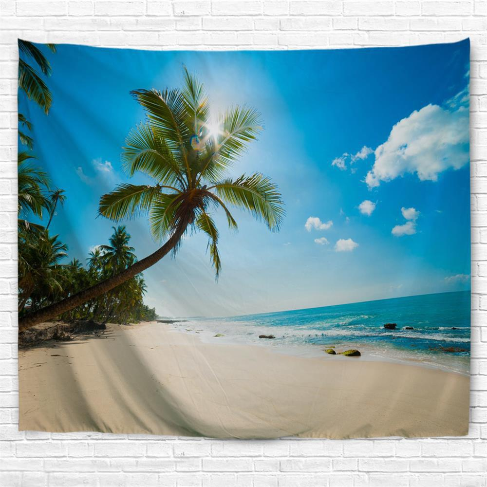 Tropical Beach 3D Printing Home Wall Hanging Tapestry for Decoration tropical forest 3d printing home wall hanging tapestry for decoration