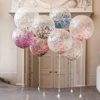 Party Confetti Gold Glitter Balloons Wedding Decorations - multicolor A