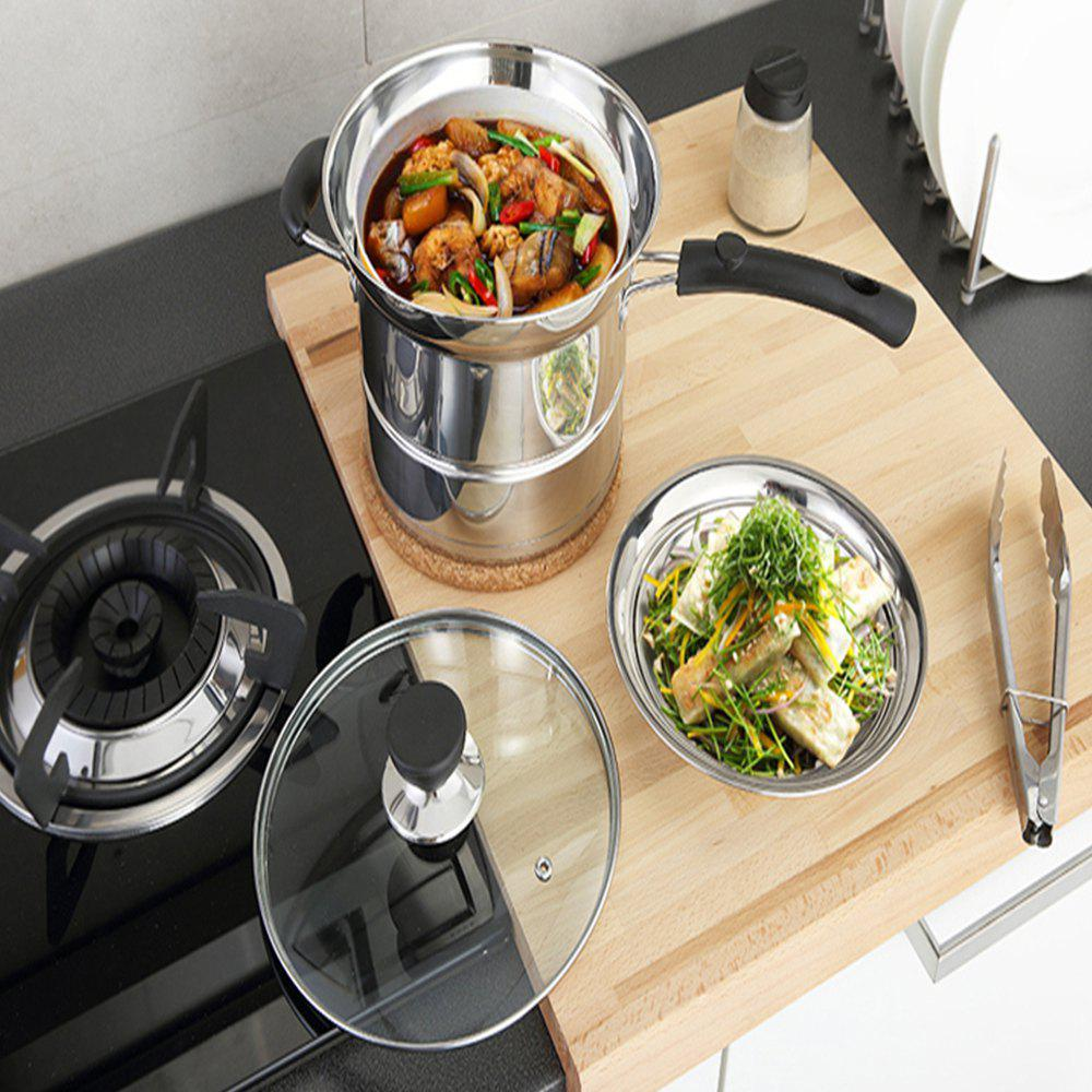 Stainless Steel Multi-Purpose Frying Pan Pot