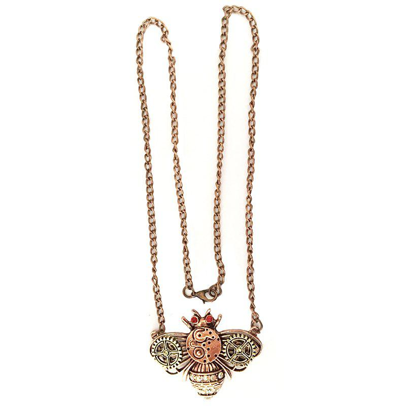 Europe and The United States New Popular Steam Punk Bee Pendant Necklace new europe paper only