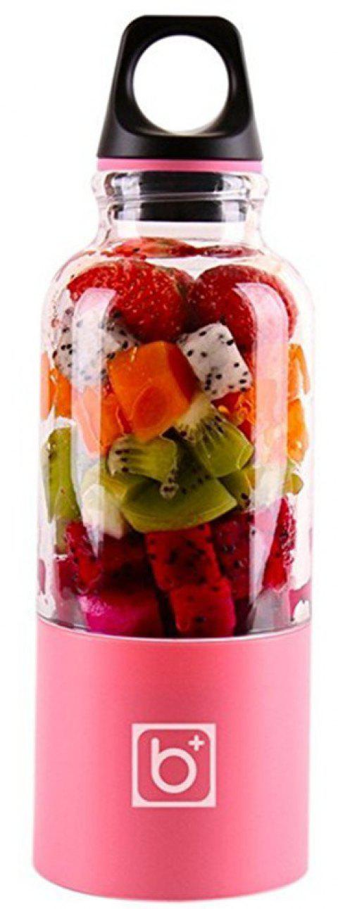 Mini Presse-Fruits Rechargeable Portable USB - Rose Oeillet