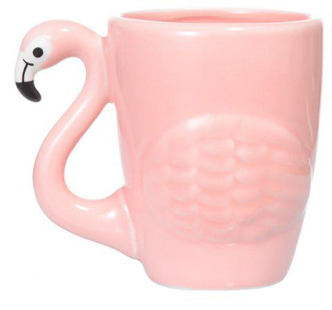 1pc potable tasse de thé dessin animé conception solide café pot - ROSE PÂLE 14*12*9