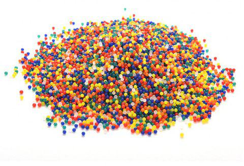 Rainbow Colored Magic Water Bead Mix Vase Filler and Party Decoration Toy 5000PCS - multicolor A