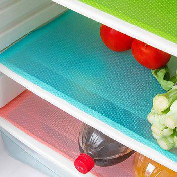 3PCS Refrigerator Cabinet Mat Mold Moisture Absorption Pad - multicolor A