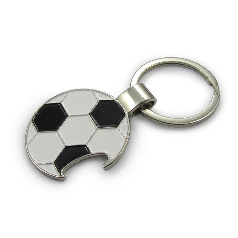 Soccer Football Keychain Metal Bottle Opener Keyring Pendant tiebao a13135 men tf soccer shoes outdoor lawn unisex soccer boots turf training football boots lace up football shoes
