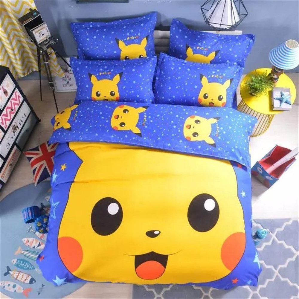 Pikachu Four-Piece Bedding Set купить