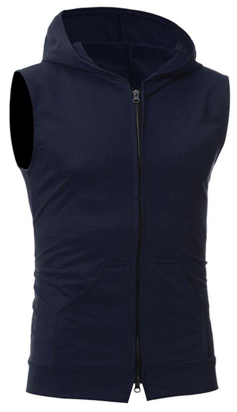 Men's Fashion Simple Sports Vest - CADETBLUE XL