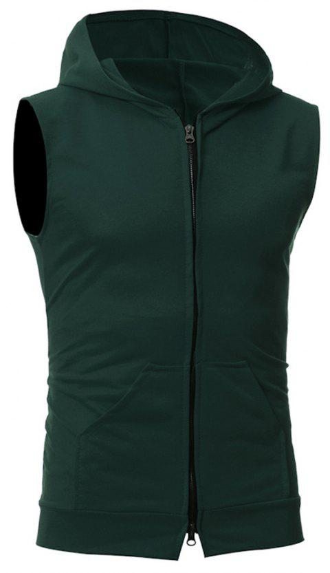 Men's Fashion Simple Sports Vest - ARMY GREEN 2XL