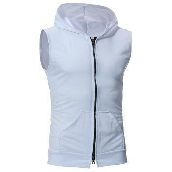 Men's Fashion Simple Sports Vest - WHITE M