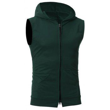 Men's Fashion Simple Sports Vest - ARMY GREEN M