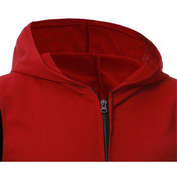 Men's Fashion Simple Sports Vest - RED L