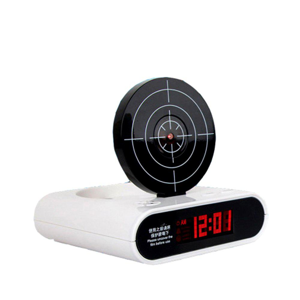 Creative Target Toy LED Red Word Display Mute Alarm Clock creative target toy led red word display mute alarm clock