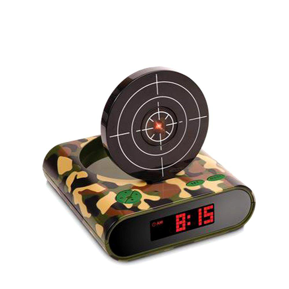 Creative Target Toy LED Red Word Display Mute USB Alarm Clock creative target toy led red word display mute alarm clock