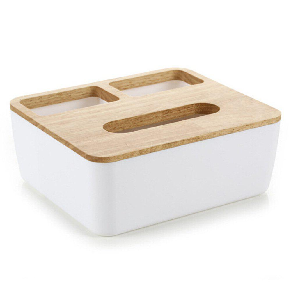 Фото Home Office Multi-Functional Sundry Storage Tissue Box 1pcs