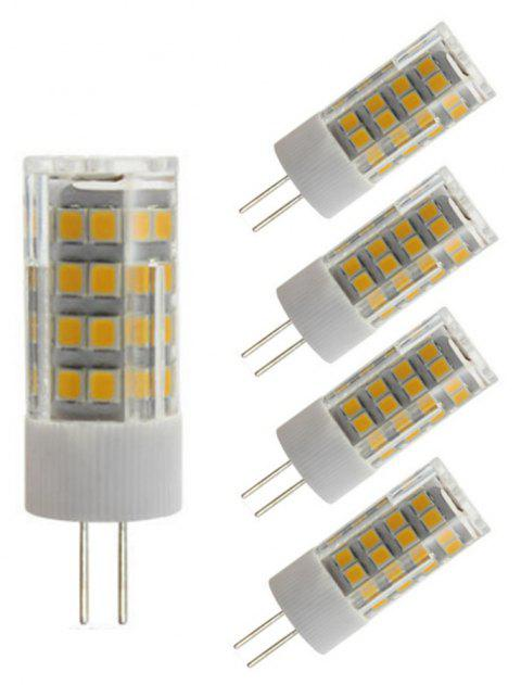 OMTO 5PCS Mini G4 LED Bulb 220V SMD2835 3W 5W 7W Corn Lamp Spotlight - WARM WHITE 5W