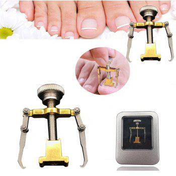 Recover Toe Paronychia Brace Tools Ingrown Toenails Fixer - BRONZE