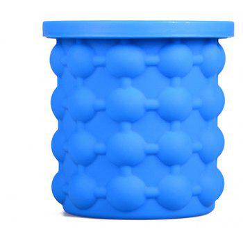 Ice Cube Maker Silicone Bucket Tray Can for Chilling Beer Whiskey