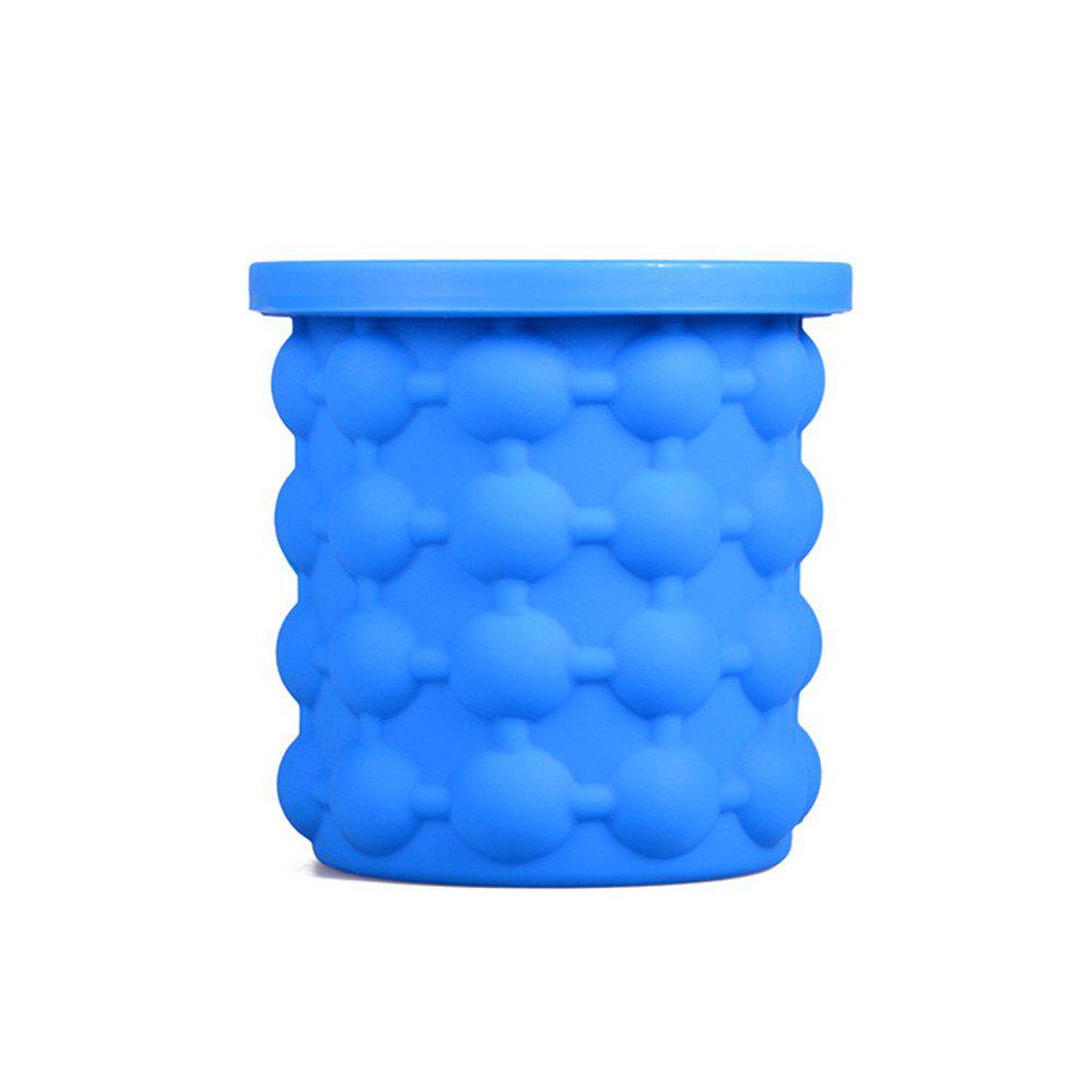 Ice Cube Maker Silicone Bucket Tray Can for Chilling Beer Whiskey ice cube maker for vip