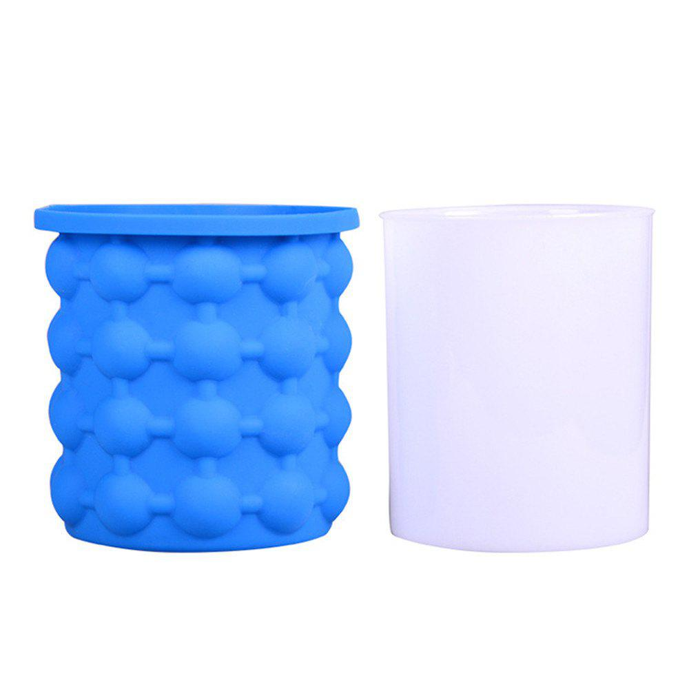 New Ice Cube Maker Silicone Bucket Kitchen Tools Cubes Machine Refillable kleibi home creative ice cocktail machine главная ice box холодильник ice maker diy ice maker klb1012 48 сетка для решетки ice grid white