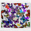 Color Butterfly 3D Printing Home Wall Hanging Tapestry for Decoration - multicolor A W200CMXL180CM