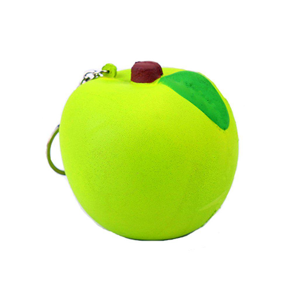 Jumbo Squishy Stylish Fruit PU Stress Reliever Toy realistic pineapple pu foam fruit squishy toy