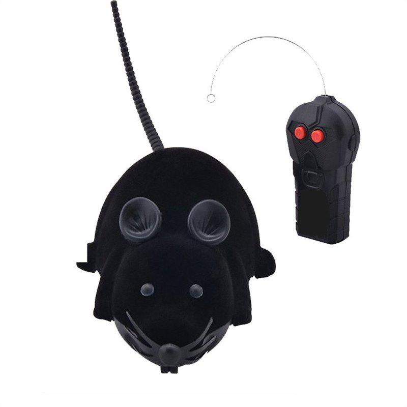 Funny Wireless Electronic Remote Control Mouse Rat Toy for Cats Dogs Pets hot sell a6 4d gravity induction rc remote control motorcycle electronic toy cars rechargeable drift dumpers promotional gifts