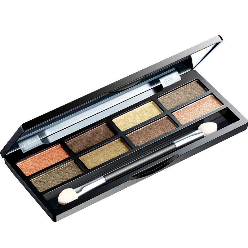 BIOAQUA Persistent and Non Decolor Eight Color Eye Shadow - multicolor D