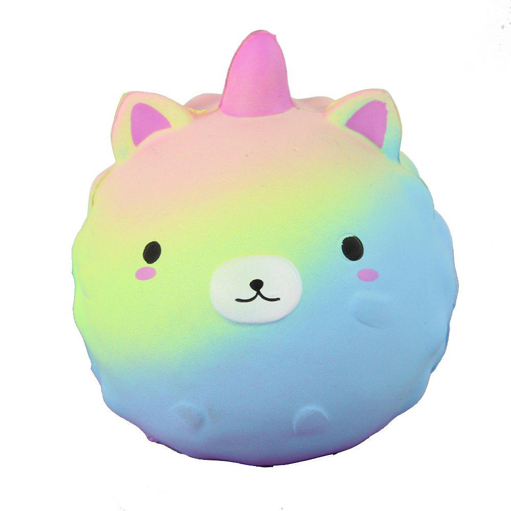Jumbo Squishy Starry Jouets d'ours globulaires - multicolor A