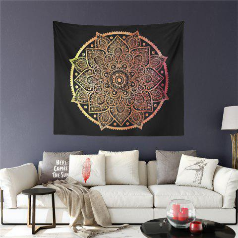 Hot Selling Foreign Region Bohemia Mystical Totem Series Tapestry GT-ZR-04 - BLACK SIZE L