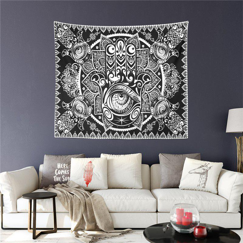 Hot Selling Foreign Region Bohemia Mystical Totem Series Tapestry GT-ZR-06 - BLACK SIZE L