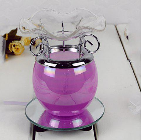 Novelty Creative Home Egg Cup Fragrance Lamp - HELIOTROPE PURPLE