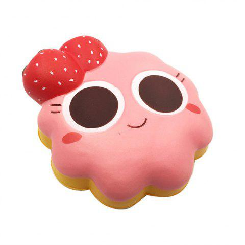 Slow Rebound Toy for Big Strawberry Bread - LIGHT CORAL