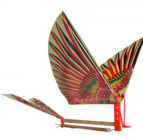 1pc Bande de caoutchouc BRICOLAGE à la main Bionic Air Plane Ornithopter - multicolor