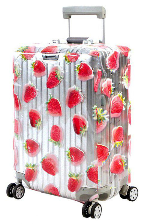 Trolley Case Protective Cover Dust Cover 1pcs - RED SIZE XL