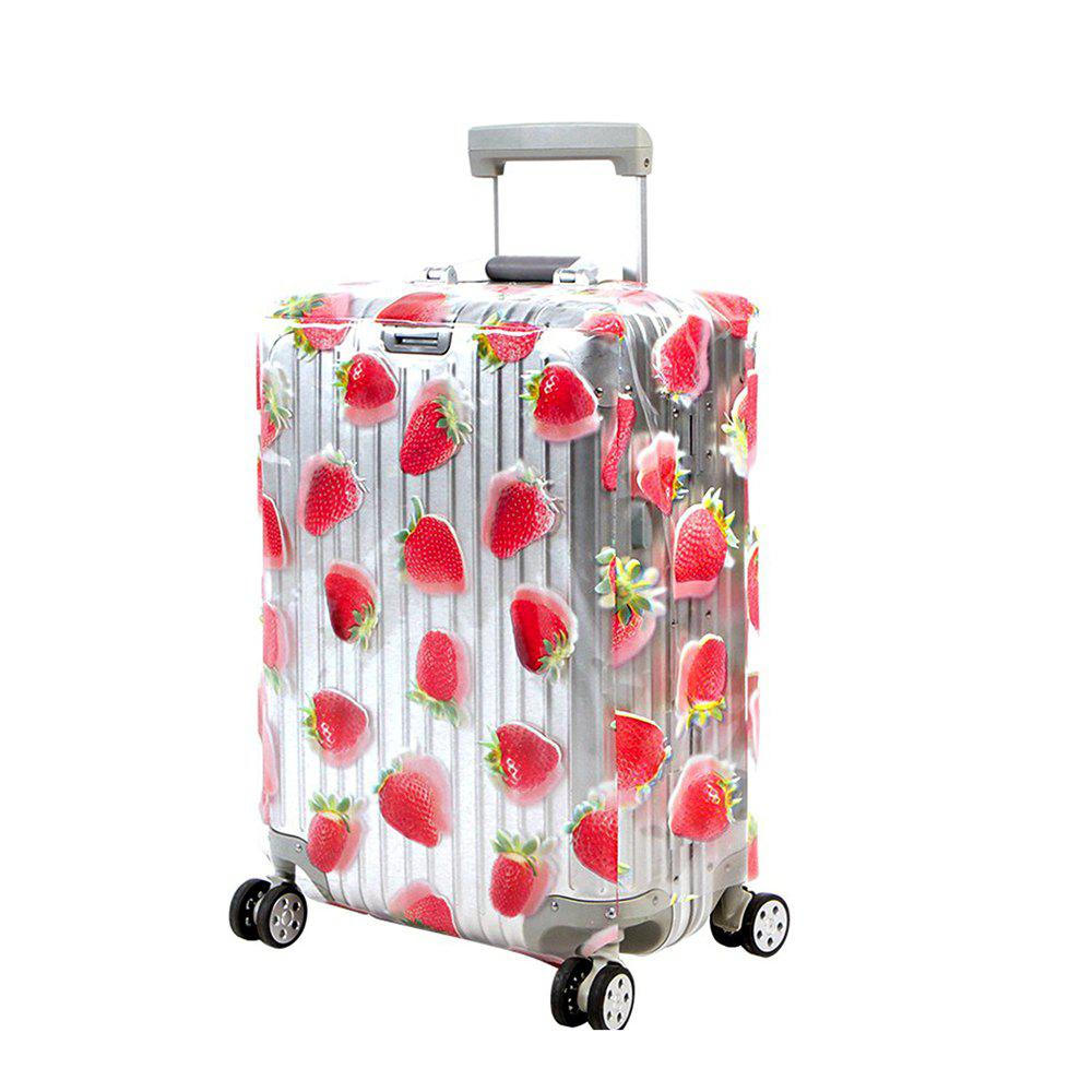 Trolley Case Protective Cover Dust Cover 1pcs - RED SIZE M