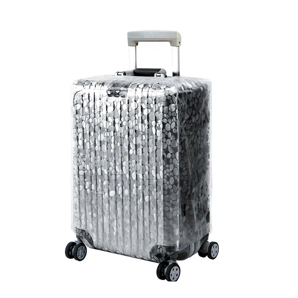 Trolley Case Protective Cover Dust Cover 1pcs - WHITE SIZE XL