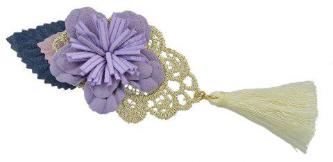 Tassel Flower Decoration Hairpin Hairwear - PURPLE DRAGON