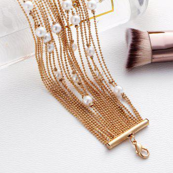 Fashionable Personality Woman Multi-Layer Bracelet - GOLD