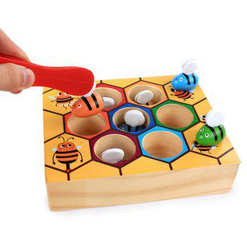 Hive Board Games Entertainment Early Childhood Education Wooden Toys - multicolor A