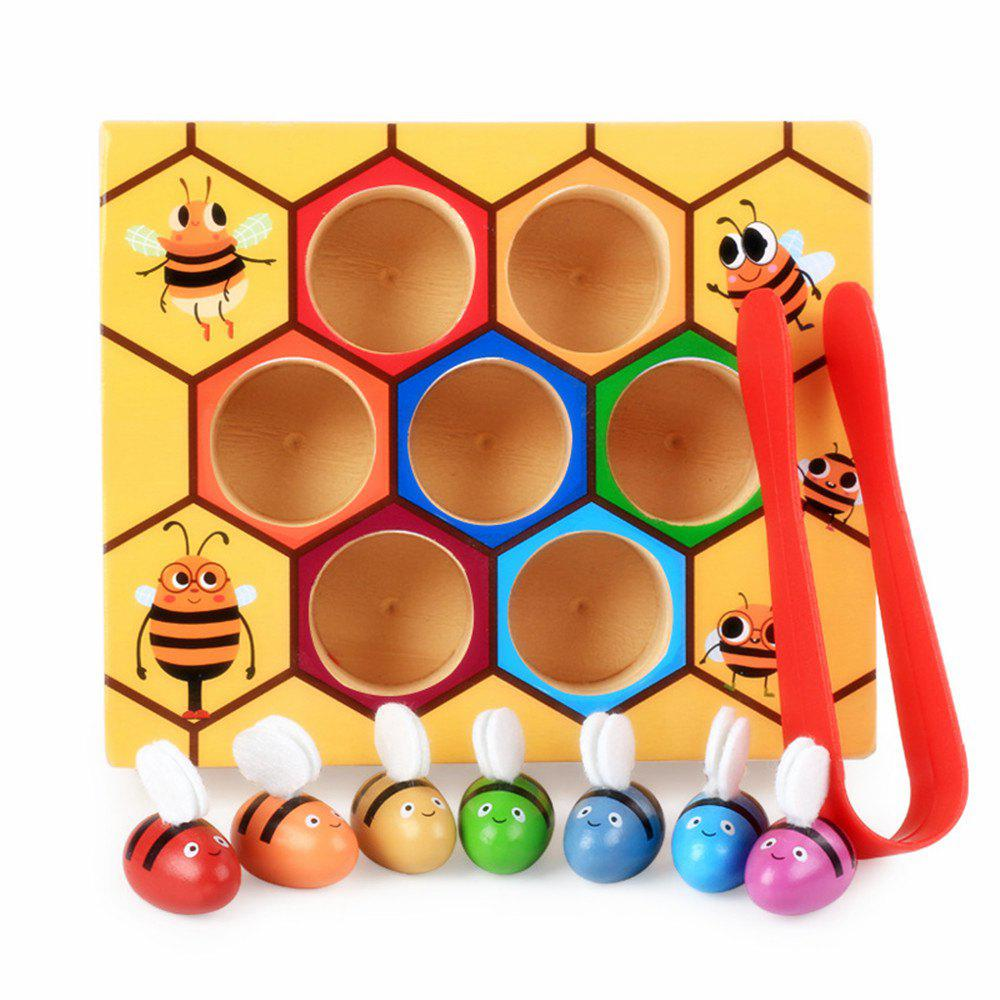 Hive Board Games Entertainment Early Childhood Education Wooden Toys new wooden baby toy montessori cylinder blocks sensorial preschool training early childhood education