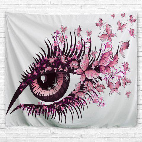 Butterfly  Eyes 3D Printing Home Wall Hanging Tapestry for Decoration - multicolor A W230CMXL180CM