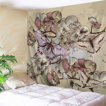 Butterfly  3D Printing Home Wall Hanging Tapestry for Decoration - multicolor A W230CMXL180CM