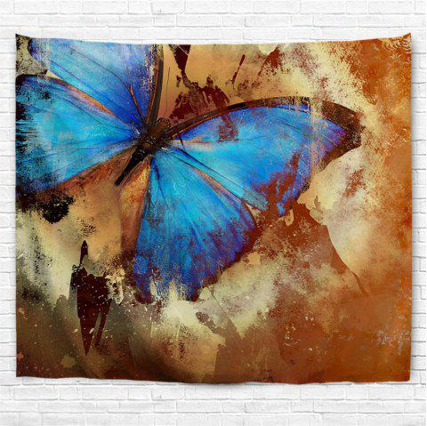 Butterfly Specimen 3D Printing Home Wall Hanging Tapestry for Decoration - multicolor A W229CMXL153CM