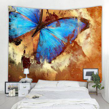Butterfly Specimen 3D Printing Home Wall Hanging Tapestry for Decoration - multicolor A W153CMXL130CM