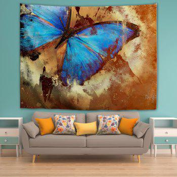 Butterfly Specimen 3D Printing Home Wall Hanging Tapestry for Decoration - multicolor A W200CMXL180CM