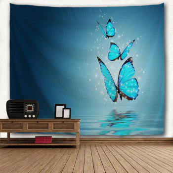 Butterfly Shadow 3D Printing Home Wall Hanging Tapestry for Decoration - multicolor A W230CMXL180CM