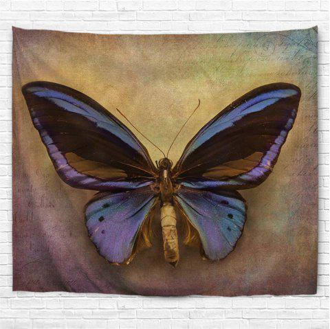 Big Butterfly 3D Printing Home Wall Hanging Tapestry for Decoration - multicolor A W153CMXL130CM
