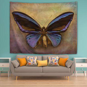 Big Butterfly 3D Printing Home Wall Hanging Tapestry for Decoration - multicolor A W153CMXL102CM
