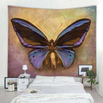 Big Butterfly 3D Printing Home Wall Hanging Tapestry for Decoration - multicolor A W203CMXL153CM