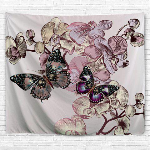 Butterfly   3D Printing Home Wall Hanging Tapestry for Decoration - multicolor A W229CMXL153CM